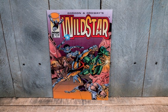Vintage 1993 Wildstar Sky Zero #2 Comic Book Gordon and Ordway Modern Age Super Hero Comics