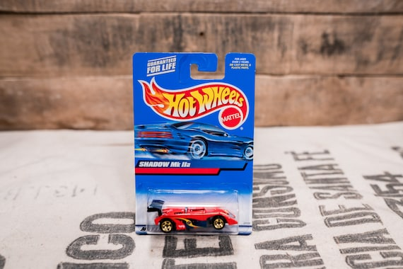Vintage Hot Wheels 1999 Shadow MK IIa Mattel Collectable Toy Unopened Original Car Kids Man Cave