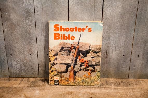 Vintage 1963 Shooters Bible No. 54 Catalog Outdoors Cabin Hunting Man Cave Guns Ammo Advertising