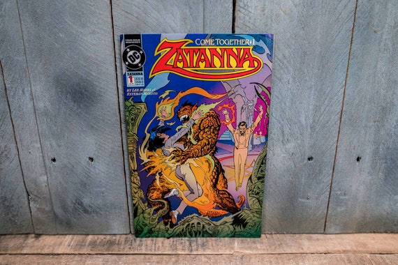 Vintage 1993 Zatanna #1 Comic Book Modern Age Super Hero Comics