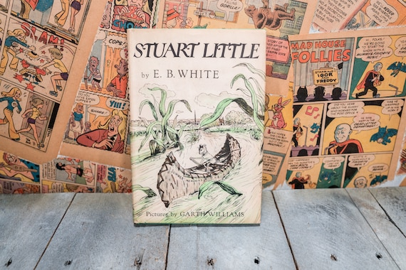 Vintage 1945 Stuart Little by E. B. White Hard Cover Collectable Books Kids