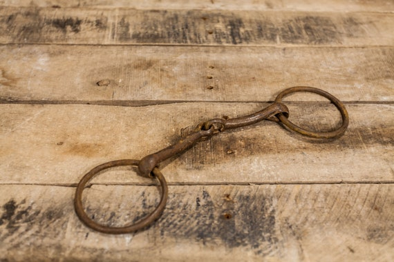 Vintage Horse Bit Metal Rustic Farming Barn Country Decor