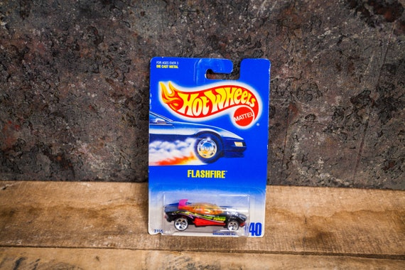 Vintage Hot Wheels 1991 Flashfire Mattel Collectable Toy Unopened Original Car Kids Man Cave