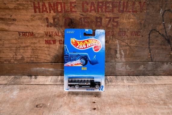 Vintage Hot Wheels 1991 Police Bus Mattel Collectable Toy Unopened Original Car Kids Man Cave