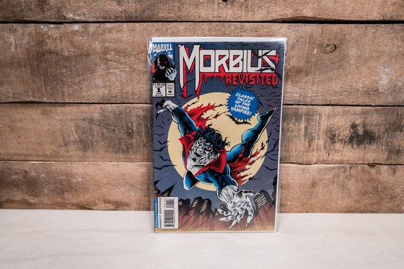 Vintage 1990s Morbius Revisited #1 Marvel Comic Book