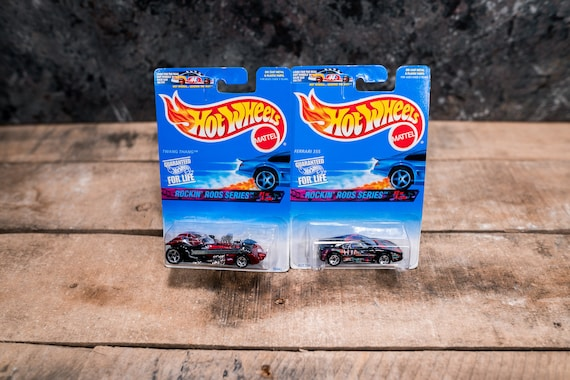 Vintage Hot Wheels 1996 Rockin' Rods Series Lot Mattel Collectable Toy Unopened Original Car Kids Man Cave