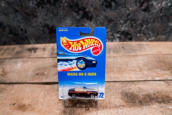 Vintage Hot Wheels 1991 Mazda MX-5 Miata Mattel Collectable Toy Unopened Original Car Kids Man Cave