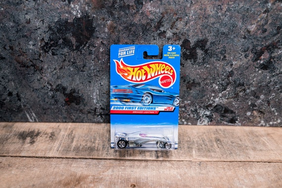 Vintage Hot Wheels 1999 Greased Lightnin' Mattel Collectable Toy Unopened Original Car Kids Man Cave
