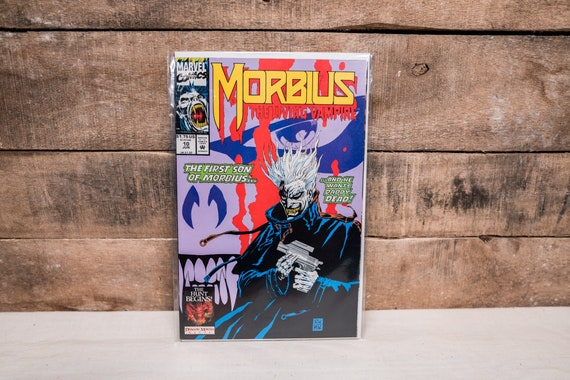 Vintage 1990s Morbius The Living Vampire #10 Marvel Comic Book