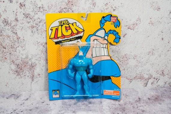 Vintage The Tick Bounding Tick Toys Collectible Figurine NIB