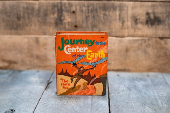 Vintage Journey to the Center of the Earth Big Little Book #26 The Fiery Foe Collectable Books. Whitman Publishing Paul S. Newman