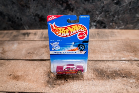 Vintage Hot Wheels 1996 59' Chevy Impala Mattel Collectable Toy Unopened Original Car Kids Man Cave