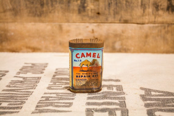 Vintage Camel Repair Kit No. 1-A Advertising Man Cave Garage