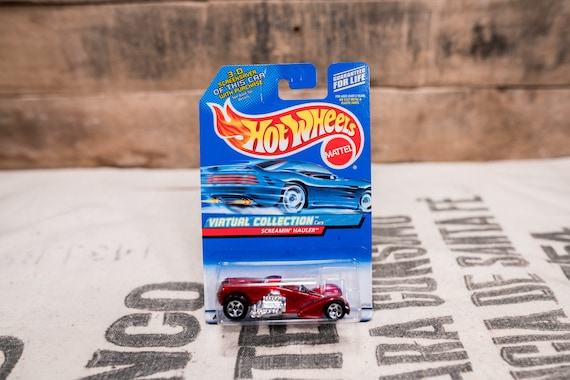 Vintage Hot Wheels 1999 Screamin' Hauler Mattel Collectable Toy Unopened Original Car Kids Man Cave
