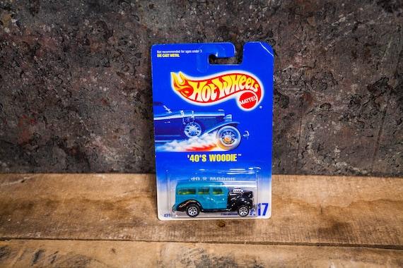 Vintage Hot Wheels 1991 40s Woodie Mattel Collectable Toy Unopened Original Car Kids Man Cave