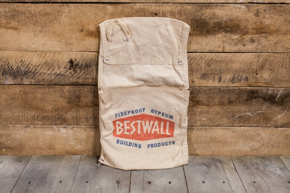 Vintage Bestwall Apron Hardware Building Supplies Store Apron Advertising