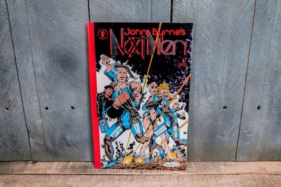 Vintage 1992 John Byrne's Next Men #1 Comic Book Modern Age Super Hero Comics