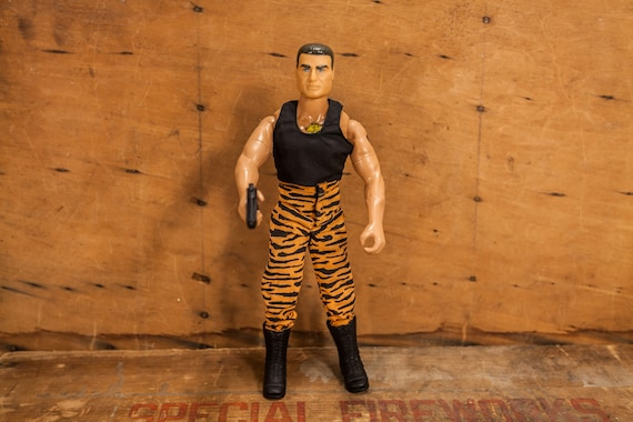 Vintage Hasbro Action Man Tiger Strike Action Figure Toys 12 inch Collectable Toy