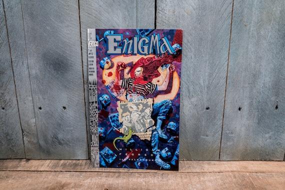 Vintage 1993 Enigma #5 DC Vertigo Comic Book Modern Age Super Hero Comics