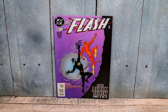 Vintage 1998 Flash #141 Comic Book Modern Age Super Hero Comics DC Comics