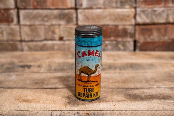 Vintage Camel #3 Tube Repair Kit Patch Advertising Man Cave Garage Automotive Bicycle