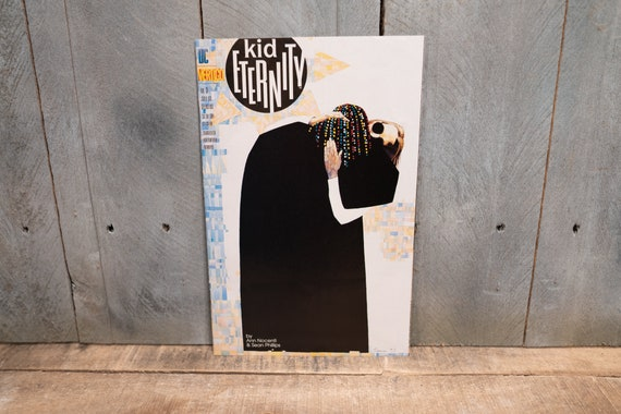 Vintage 1993 Kid Eternity #3 DC Vertigo Comic Book Modern Age Super Hero Comics