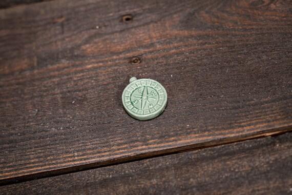 Vintage Red Rose Tea Compass Wade England Collectable Figurine Rose Tea Figures Pottery Miniature Figurine