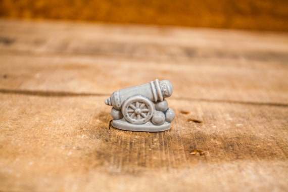 Vintage Red Rose Tea Cannon Wade England Collectable Figurine Rose Tea Figures Gray Wade Whimsies Wade Pottery Miniature Figurine