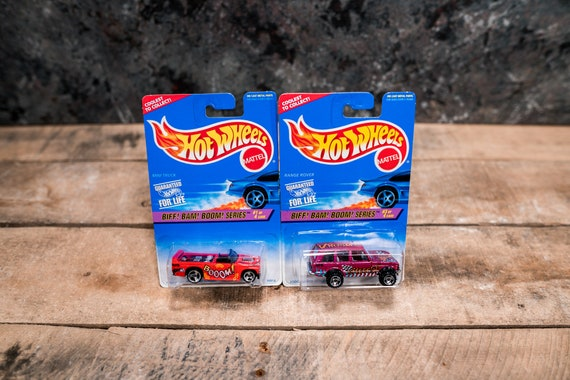 Vintage Hot Wheels 1996 Biff Bam Boom Series Lot Mattel Collectable Toy Unopened Original Car Kids Man Cave