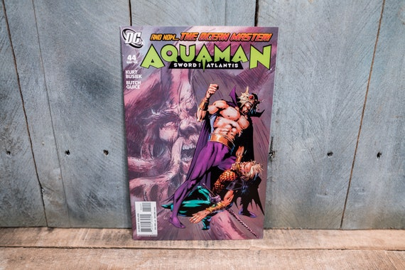 Vintage Aquaman Sword of Atlantis #44 Comic Book Modern Age Super Hero Comics