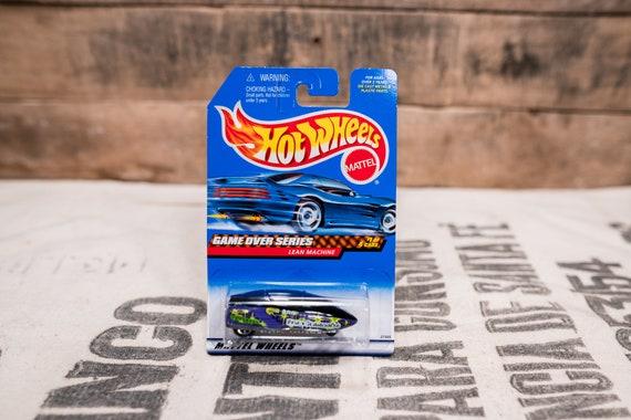 Vintage Hot Wheels 1998 Lean Machine Game Over Series #957 Mattel Collectable Toy Unopened Original Car Kids Man Cave