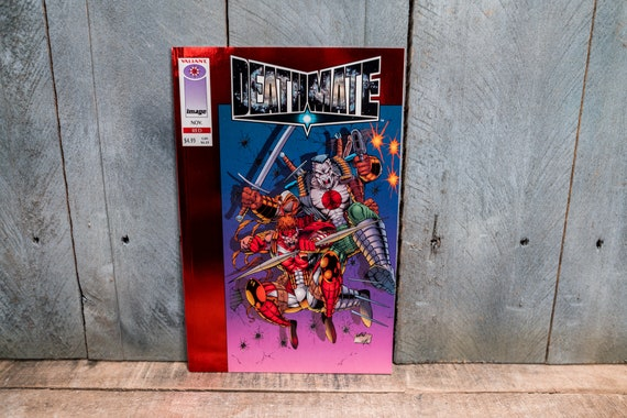 Vintage 1993 Deathmate #Red Comic Book Modern Age Super Hero Comics