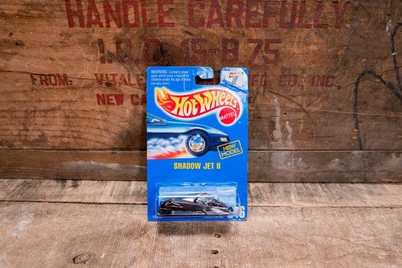 Vintage Hot Wheels 1992 Shadow Jet II Mattel Collectable Toy Unopened Original Car Kids Man Cave
