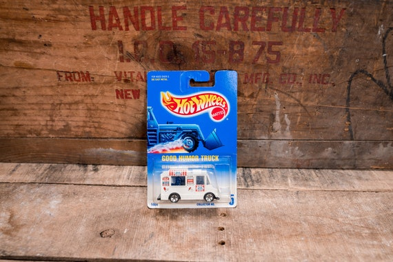 Vintage Hot Wheels 1991 Good Humor Truck Mattel Collectable Toy Unopened Original Car Kids Man Cave