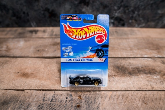 Vintage Hot Wheels 1996 Mercedes C-Class Mattel Collectable Toy Unopened Original Car Kids Man Cave