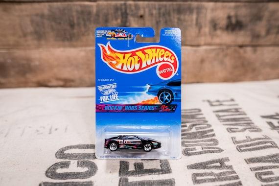 Vintage Hot Wheels 1996 Ferrari 355 Heavy Metal Rocking Rods Series #570 Mattel Collectable Toy Unopened Original Car Kids Man Cave