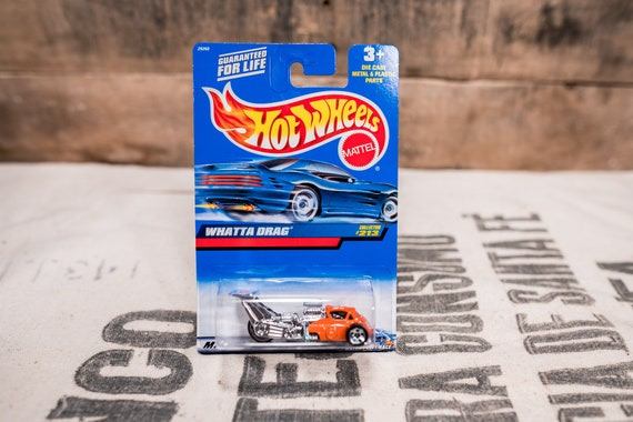 Vintage Hot Wheels 1999 Whatta Drag Mattel Collectable Toy Unopened Original Car Kids Man Cave