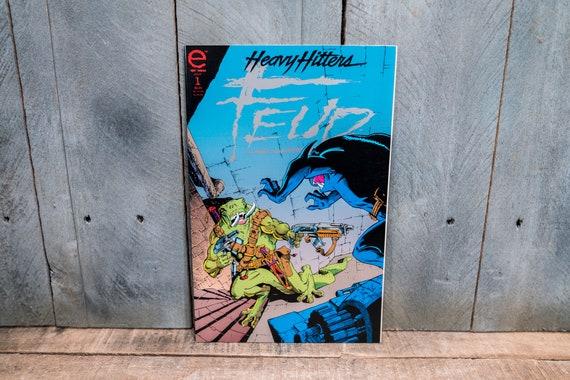 Vintage 1993 Feud #1 Comic Book Modern Age Super Hero Comics