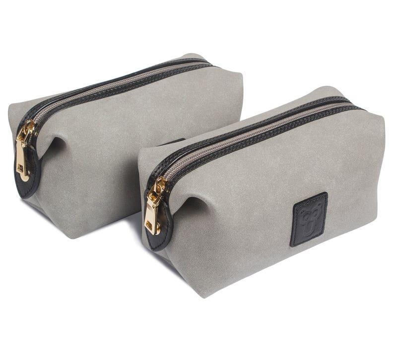 3d30776a05 Men Toiletry Bag Shaving Dopp Kit Wash Pouch Makeup Bag