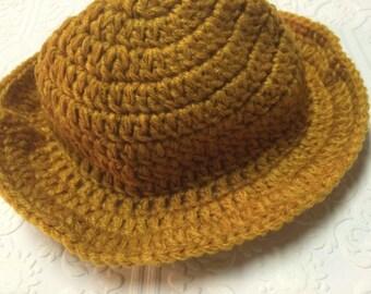 Knit Cowboy Hat Etsy
