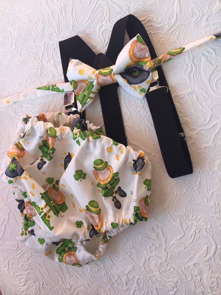 Pleasing Cake Smash Boy Outfit 1St Birthday Boy Green Diaper Cover Bow Personalised Birthday Cards Petedlily Jamesorg