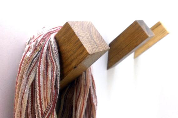 Porte manteau, patère et crochet Porte manteau bois au