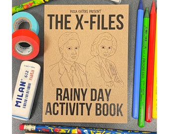 The X-Files Rainy Day Colouring & Activity Book