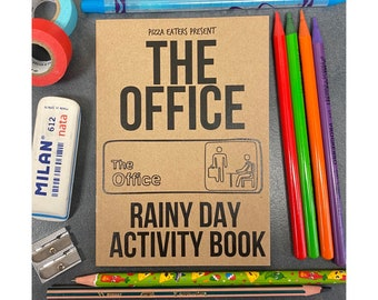 The Office Rainy Day Colouring & Activity Book