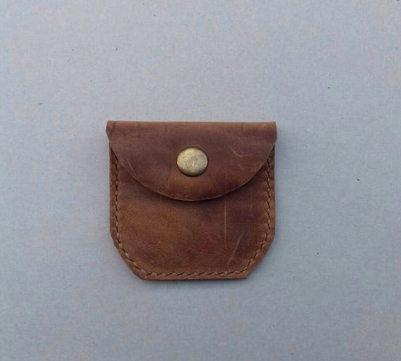 DHL EXPRESS !! Leather Coin Purse - leather coin pouch - coin purse - coin  pouch - leather coin wallet No 31