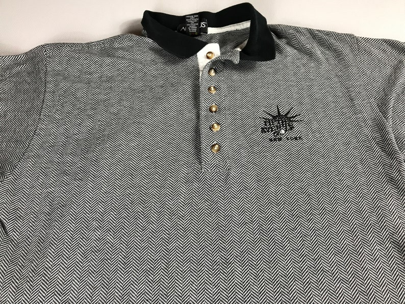 Fifth Avenue Polo Shirt Mens Size M-XL New York City USA Made image 0