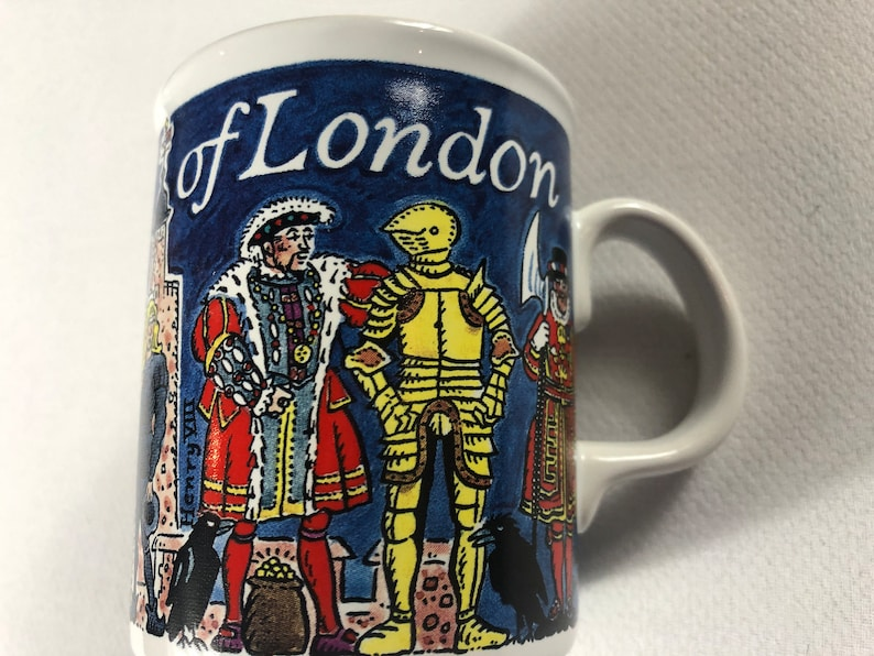 Tower Of London Picture Maps Coffee Mug Cup Drink History image 0