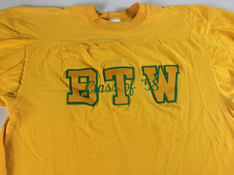 BTW Shirt Class Of 1958 Adult Size M-XL Booker T Washington image 0