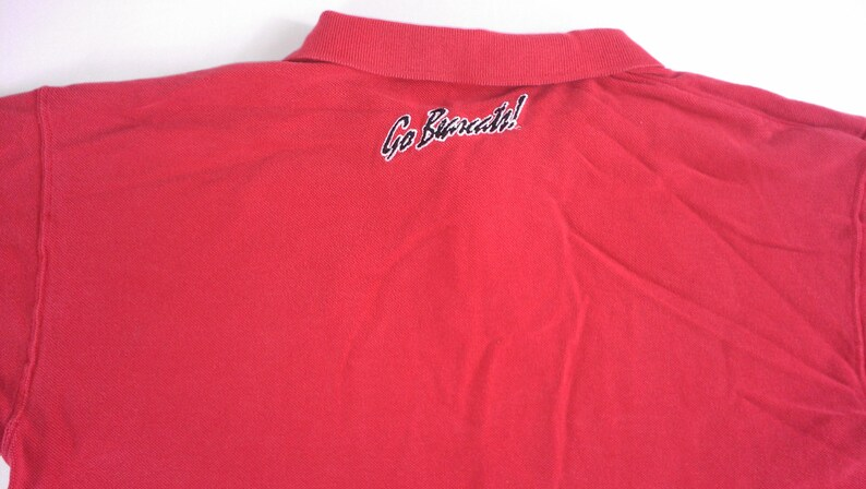 Cincinnati Bearcats Polo Shirt Mens SZ L/XL Basics Gold Label image 0