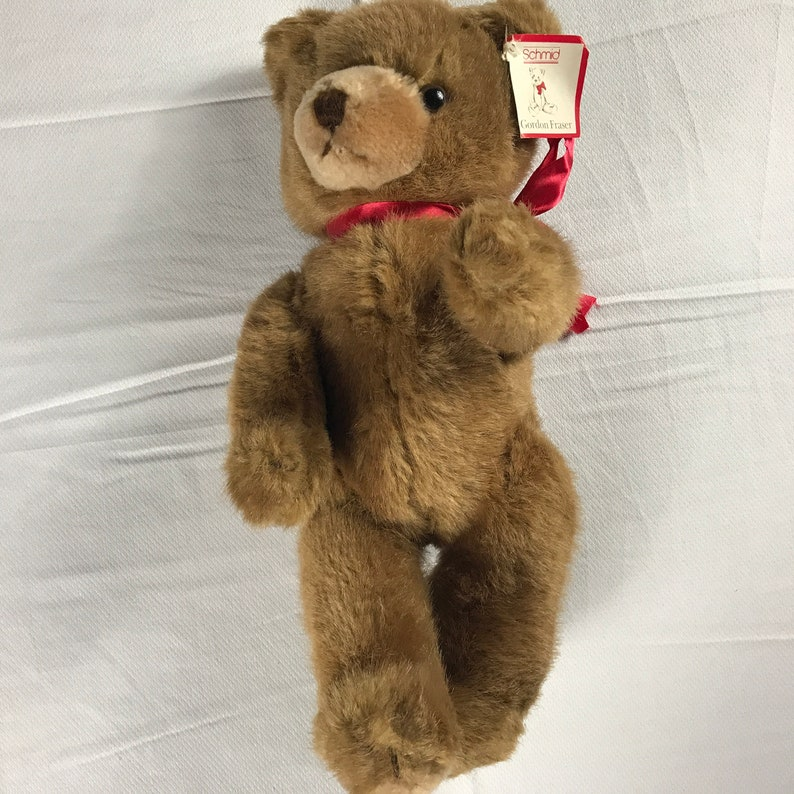 Schmid Plush Bear 1984 Fully Jointed Gordon Fraser Original image 0